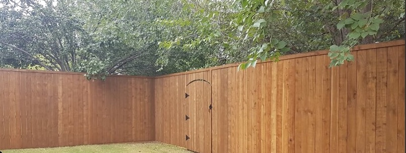 106 - Side by Side fence