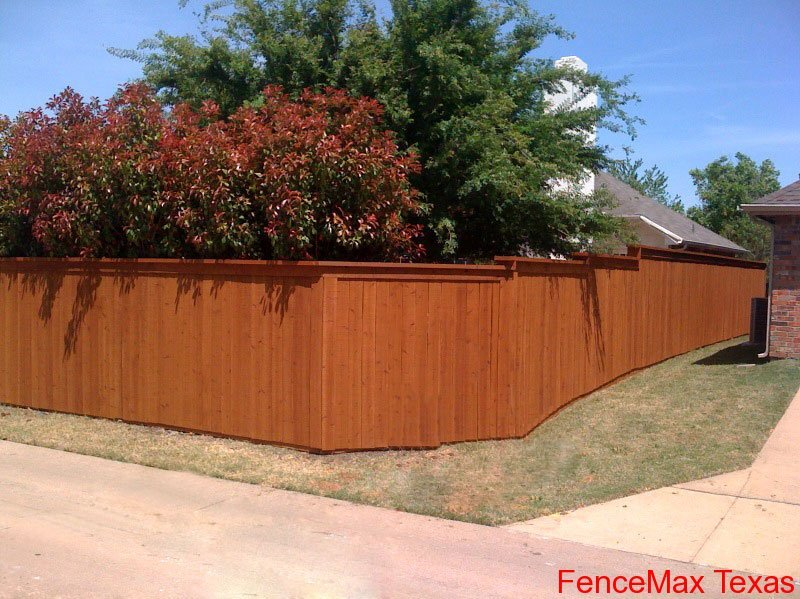 129 - Side by Side Fence with Top Cap