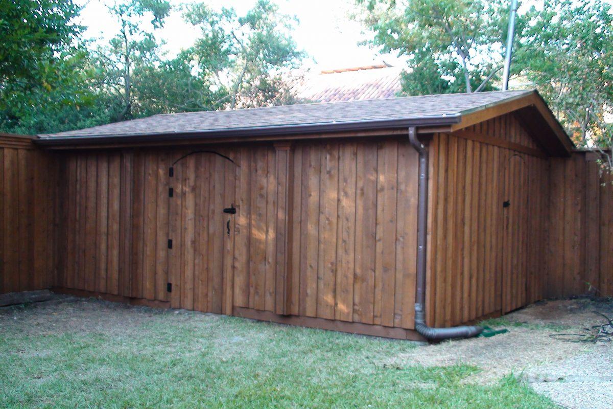 153 - Storage shed