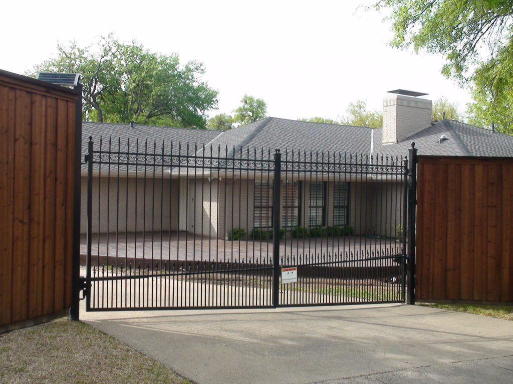Electric Gate Installation Fence Max Texas