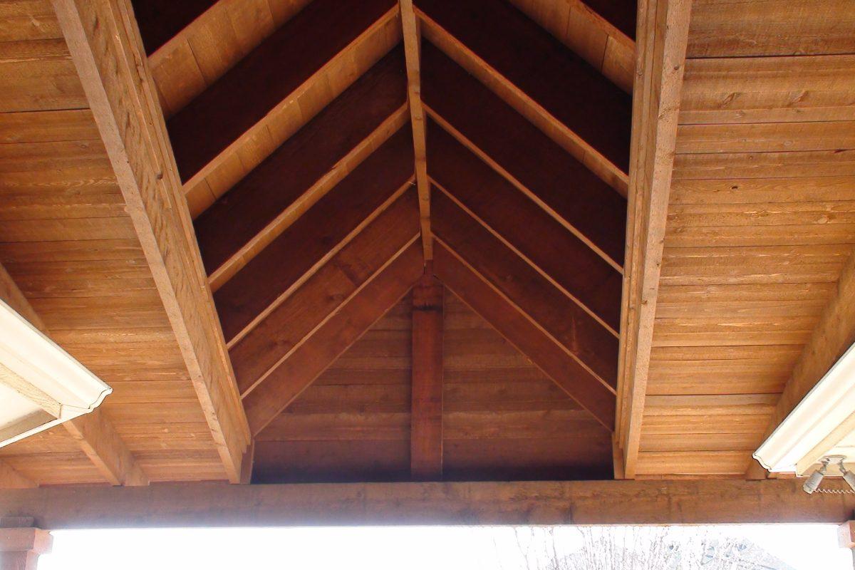 427 - Patio cover - interior view