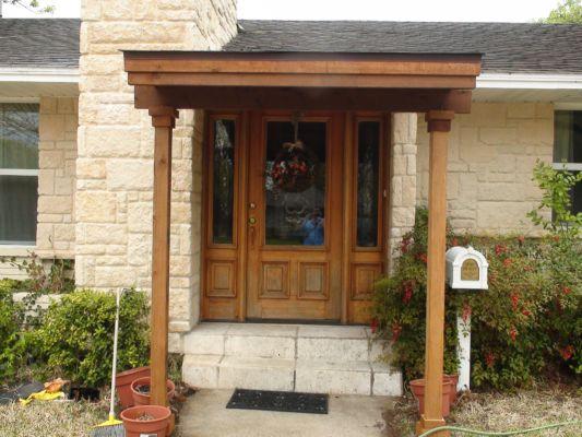 434 - small patio cover