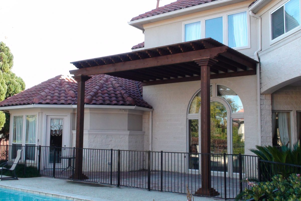 517 - Patio Cover -16 feet Tall